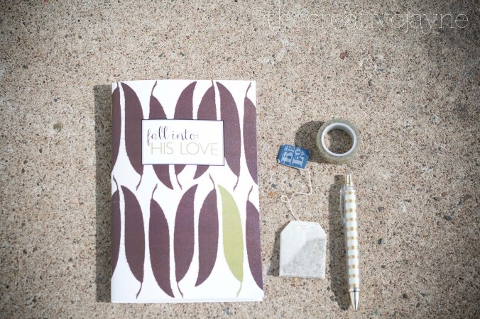 the Creative Jayne // From the Shop // Devotional Journal