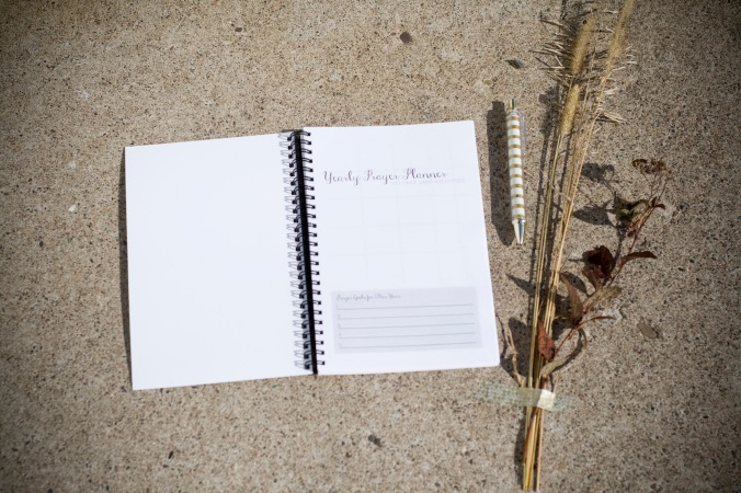 the Creative Jayne // From the Shop // Prayer Planner
