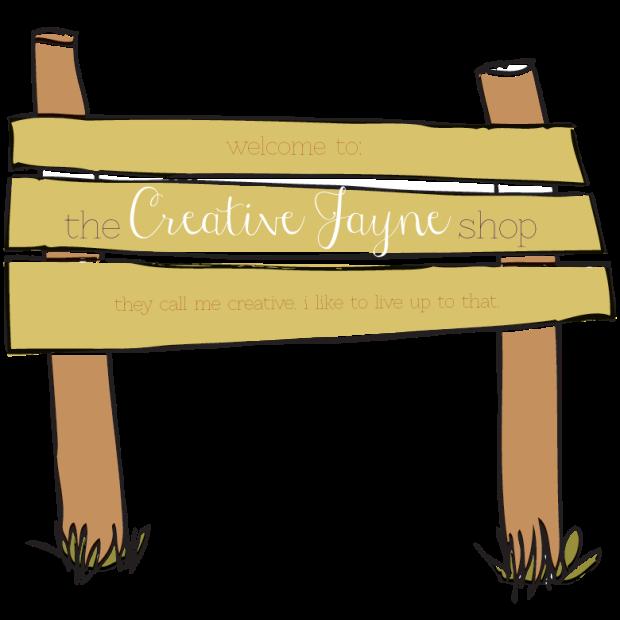 the Creative Jayne // the-shop-sign