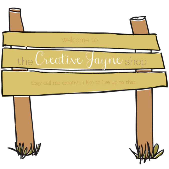 the Creative Jayne // the-shop-sign