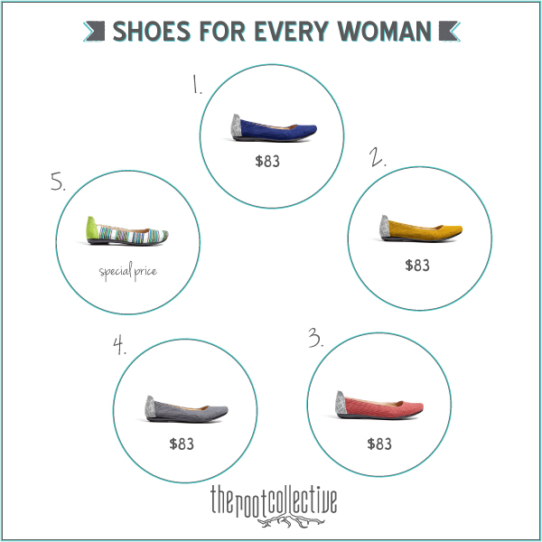 the Creative Jayne // the Root Collective \ Shoes for every woman
