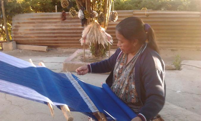 WeavingBlue