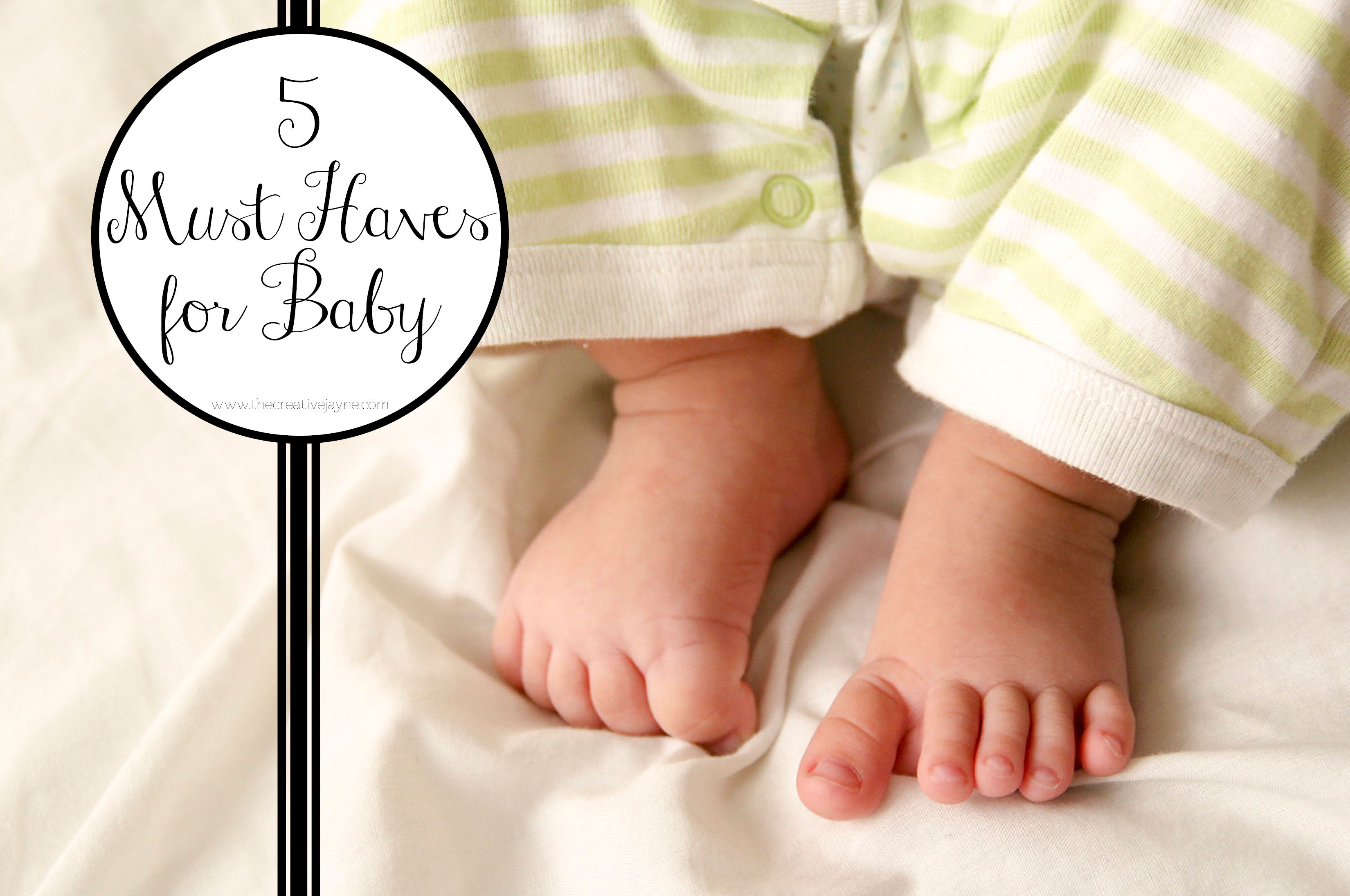 the Creative Jayne 5 on friday baby must haves