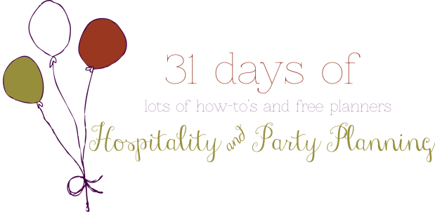 31-days-of-party-planning
