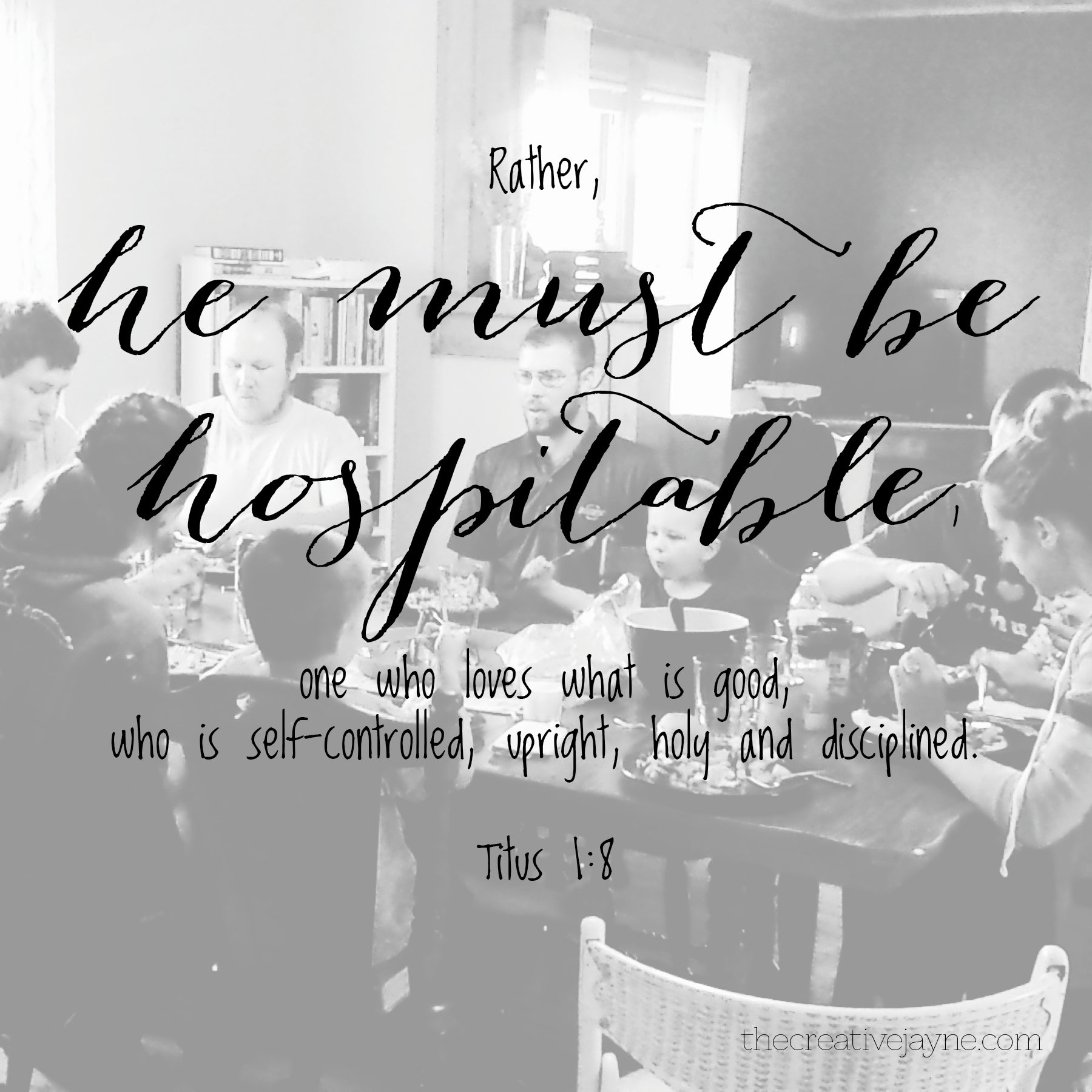 be hospitable