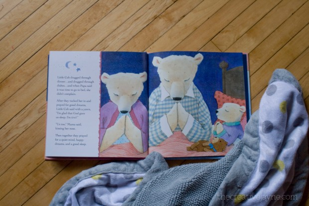 god gave us sleep book review by the creative jayne inside page