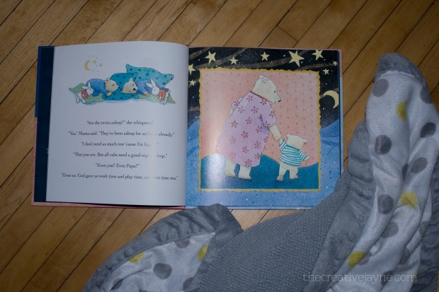 god gave us sleep book review by the creative jayne inside pages