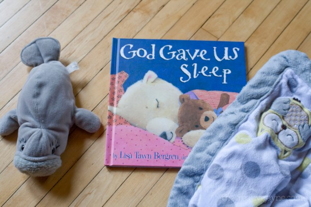 god gave us sleep book review by the creative jayne
