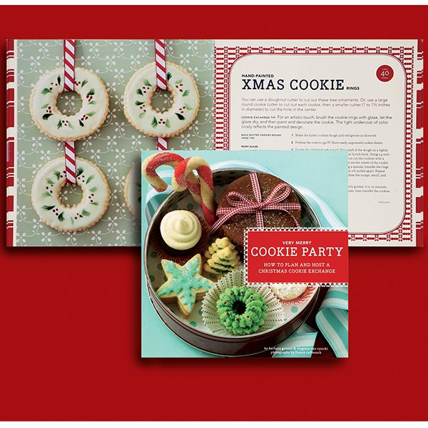 a very merry cookie party in how to host a cookie exchange by the creative jayne