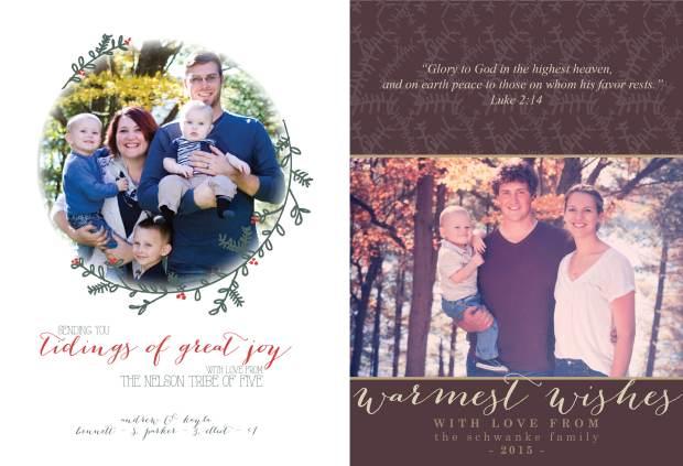 christmas cards 2015 by the creative jayne